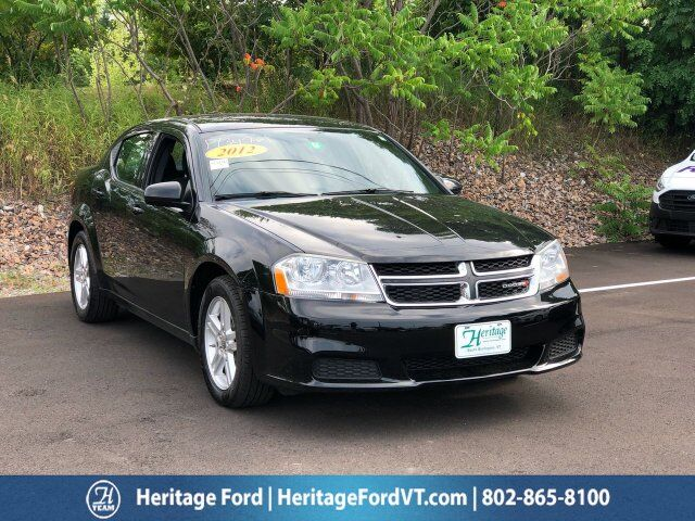 2012 Dodge Avenger SXT South Burlington VT