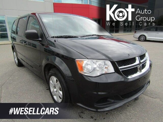 2012 Dodge GRAND CARAVAN SE! LOCAL UNIT! NO ACCIDENTS! GREAT FAMILY VEHICLE! FULLY INSPECTED! Kelowna BC