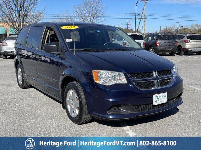 2012 Dodge Grand Caravan American Value South Burlington VT
