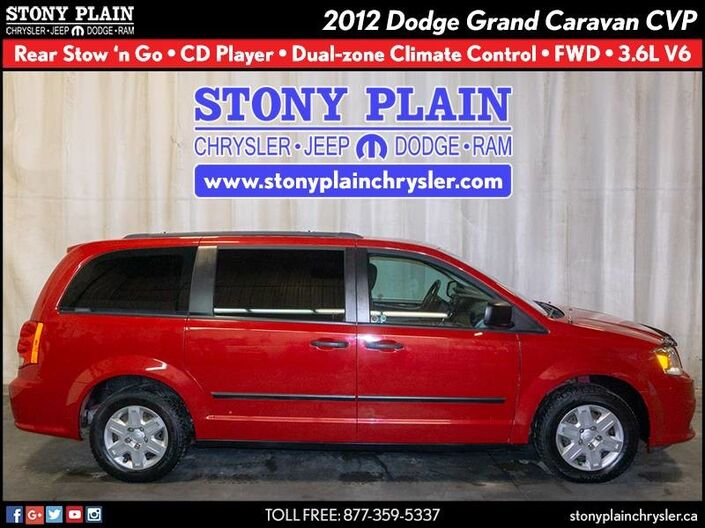 2012 Dodge Grand Caravan CVP Stony Plain AB