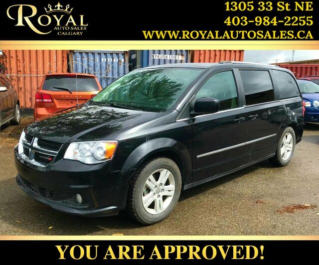 2012_Dodge_Grand Caravan_Crew Plus LEATHER, BACK UP CAM, BLUETOOTH_ Calgary AB