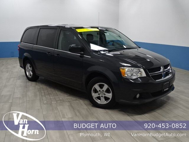 2012 Dodge Grand Caravan Crew Plymouth WI