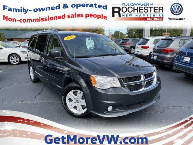 2012 Dodge Grand Caravan Crew Rochester NH