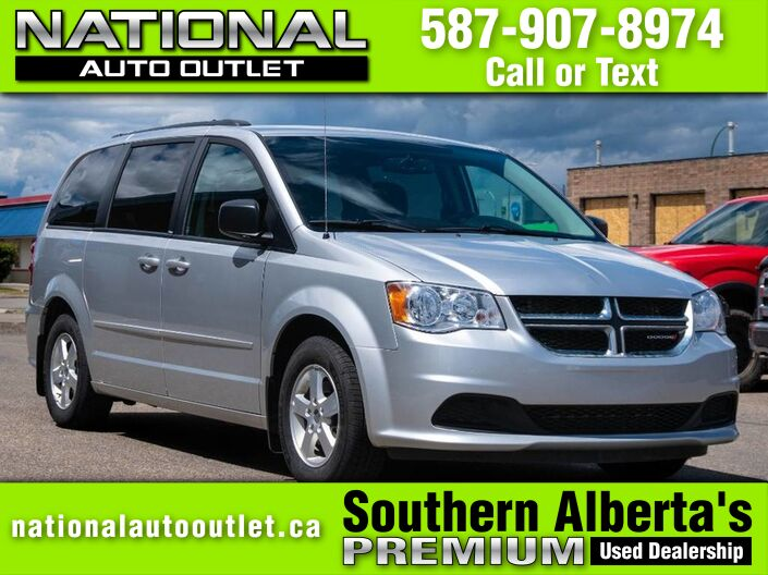 2012 Dodge Grand Caravan SE - NEW TIRES -DVD- CLEAN CAR FAX Lethbridge AB