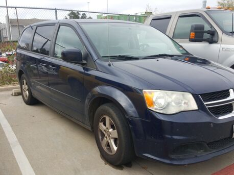 2012_Dodge_Grand Caravan_SE/AVP CUSTOMER PKG/SE PLUS PKG/UCONNECT/THIRD S ROW/BLUE_ Euless TX