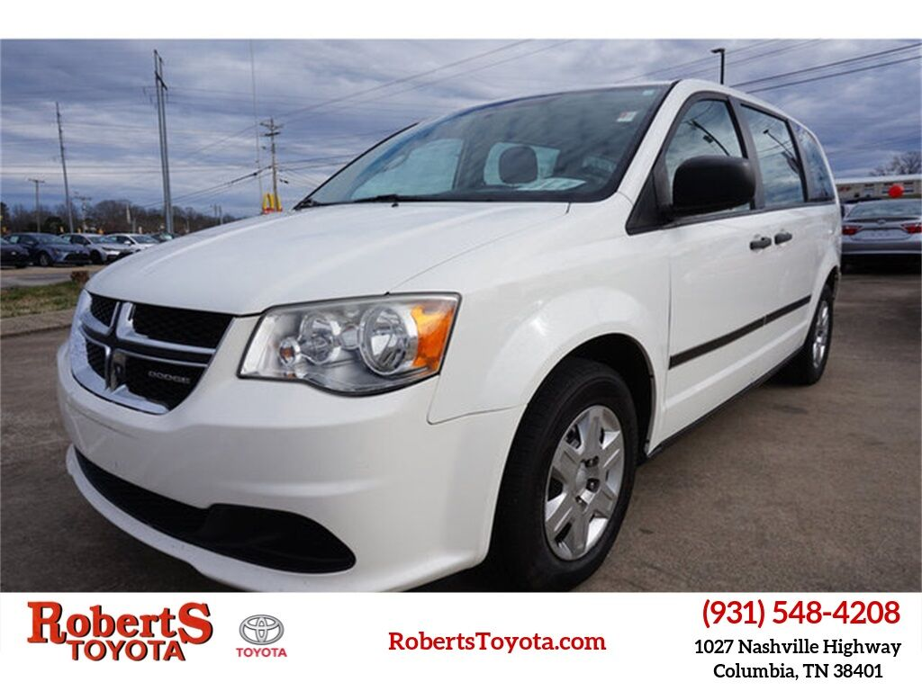 2012 Dodge Grand Caravan SE/AVP Columbia TN