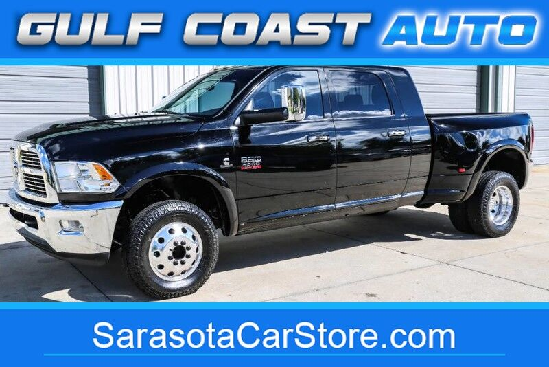 2012_Dodge_RAM 3500_LARAMIE LEATHER DUALLY MEGA CAB NAVI 4x4 EXTRA CLEAN TRUCK_ Sarasota FL