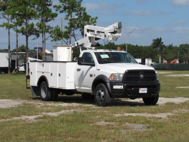 2012 Dodge RAM5500ST Versalift Bucket Truck Homestead FL