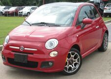 2012_FIAT_500_** SPORT ** - w/ LEATHER SEATS & SUNROOF_ Lilburn GA