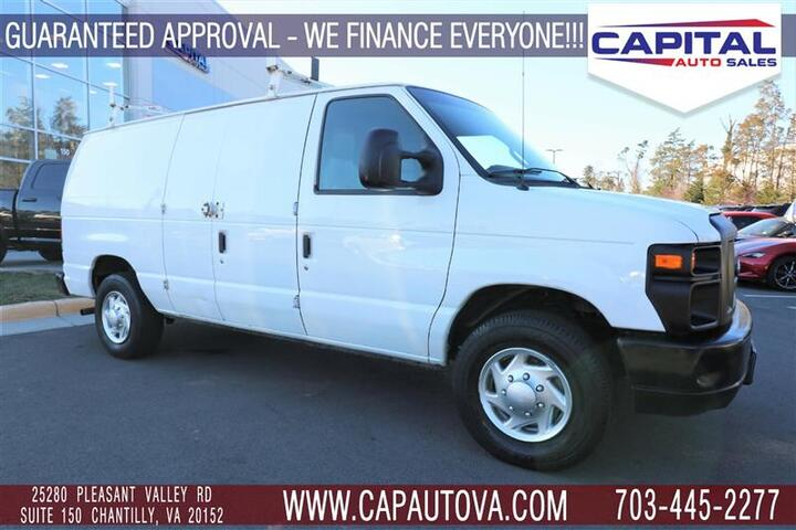 2012 FORD ECONOLINE CARGO VAN Commercial Chantilly VA