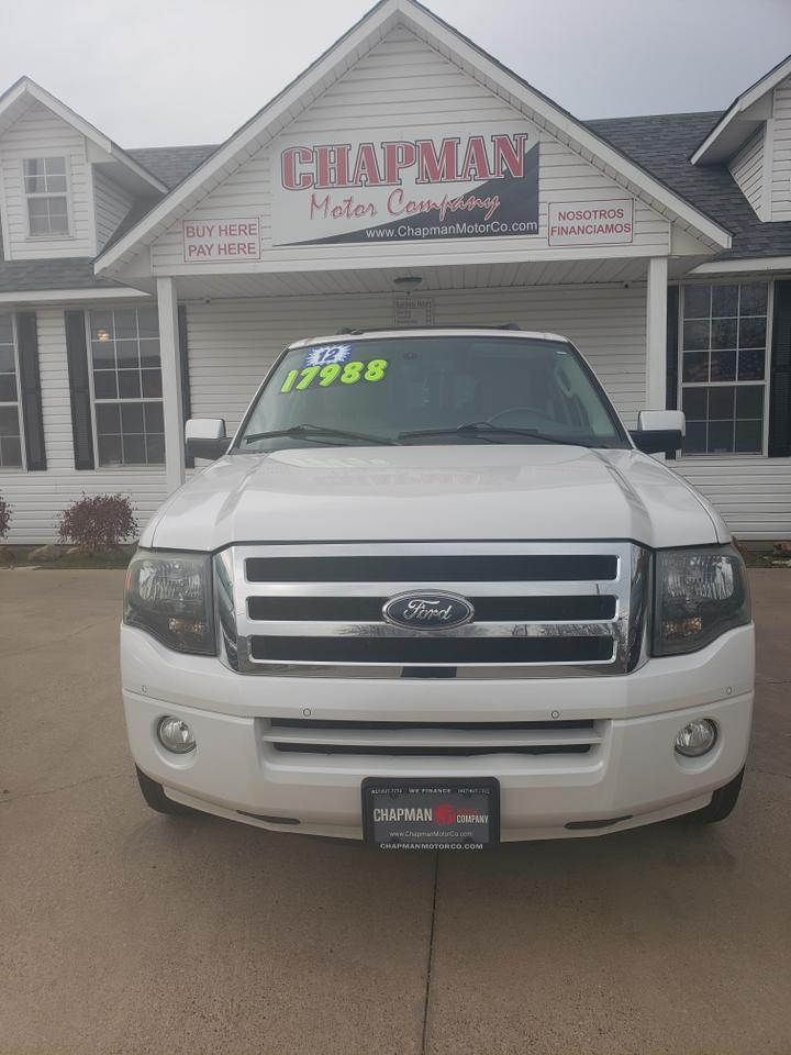2012 FORD EXPEDITION EL EL-Limited