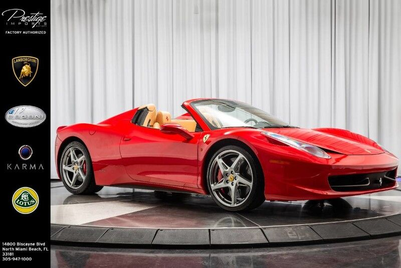 2012_Ferrari_458 Italia__ North Miami FL