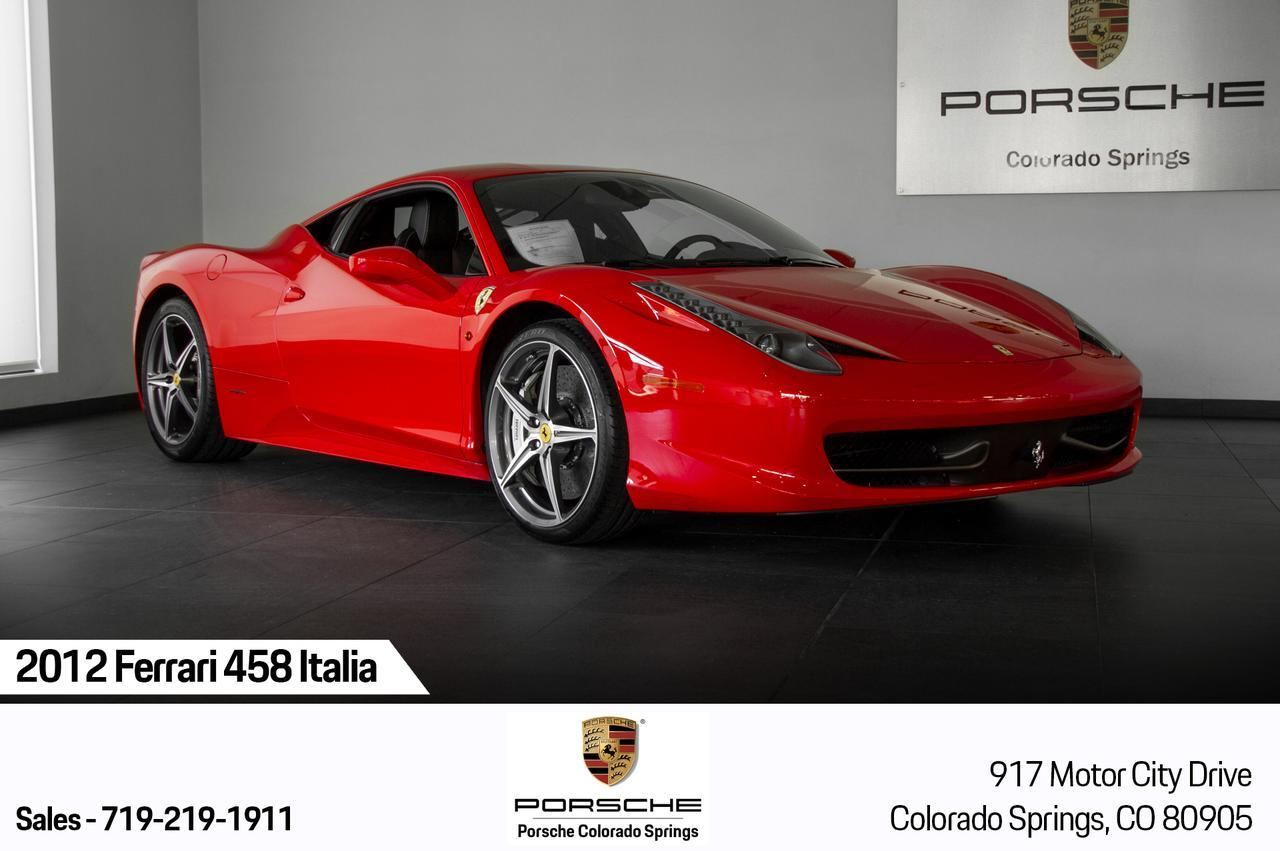 2012 Ferrari 458 Italia Coupe RWD Colorado Springs CO