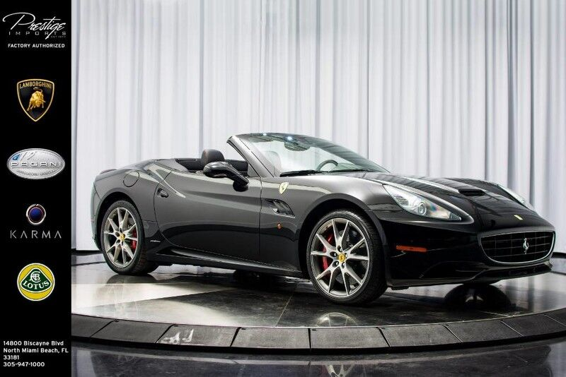 2012_Ferrari_California__ North Miami Beach FL