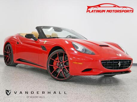 2012_Ferrari_California_2 Owner Cali Car Daytona Seats Wrapped Red Savini Wheels Celebrity Owned Only 9K Like New_ Hickory Hills IL