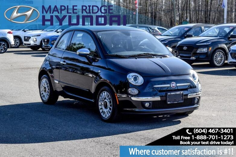 2012 Fiat 500 2dr HB Lounge Maple Ridge BC