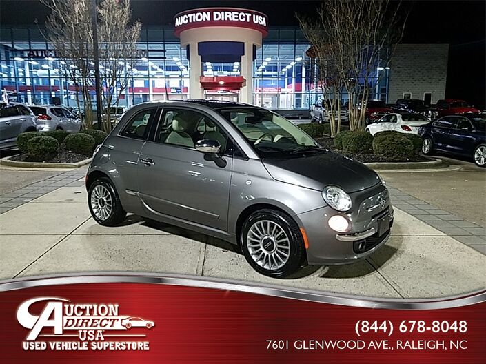 2012 Fiat 500 Lounge Raleigh