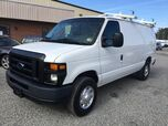 2012 Ford E350 Commercial Cargo w/ Ladder Rack & Bins Super Duty Commercial