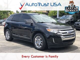 Ford Edge Limited 1 OWNER NAV BACKUP CAM SUNROOF LEATHER LOW MILES 2012