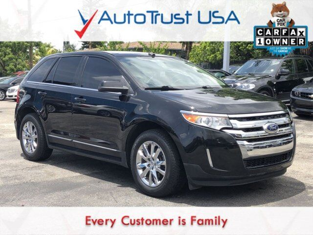 2012 Ford Edge Limited 1 OWNER NAV BACKUP CAM SUNROOF LEATHER LOW MILES Miami FL