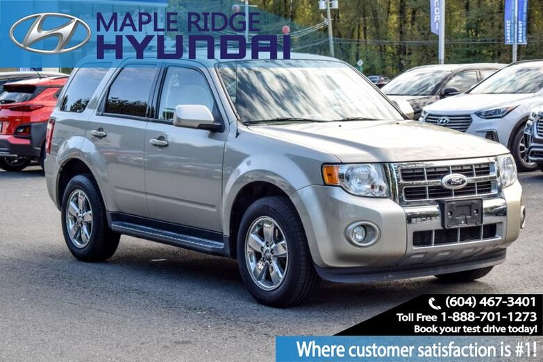 2012 Ford Escape 4WD 4dr Limited Maple Ridge BC