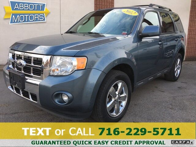 2012 Ford Escape Limited 4WD w/Heated Leather Buffalo NY