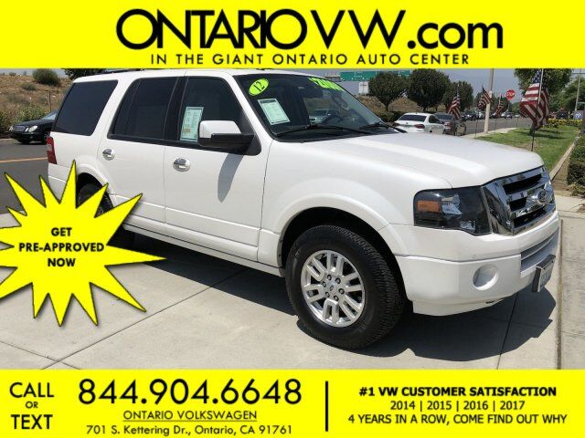 2012 Ford Expedition Limited Ontario CA
