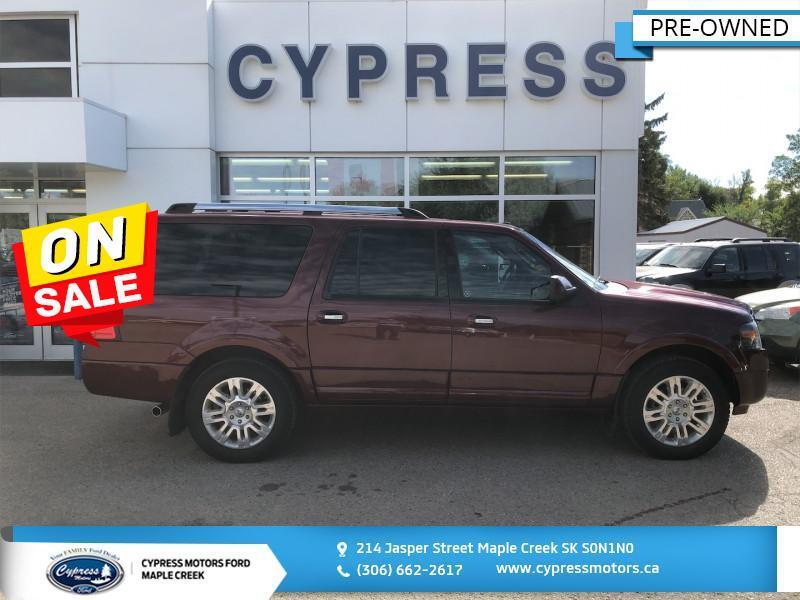 2012 Ford Expedition Max Limited- Touch Screen-Leather Maple Creek SK