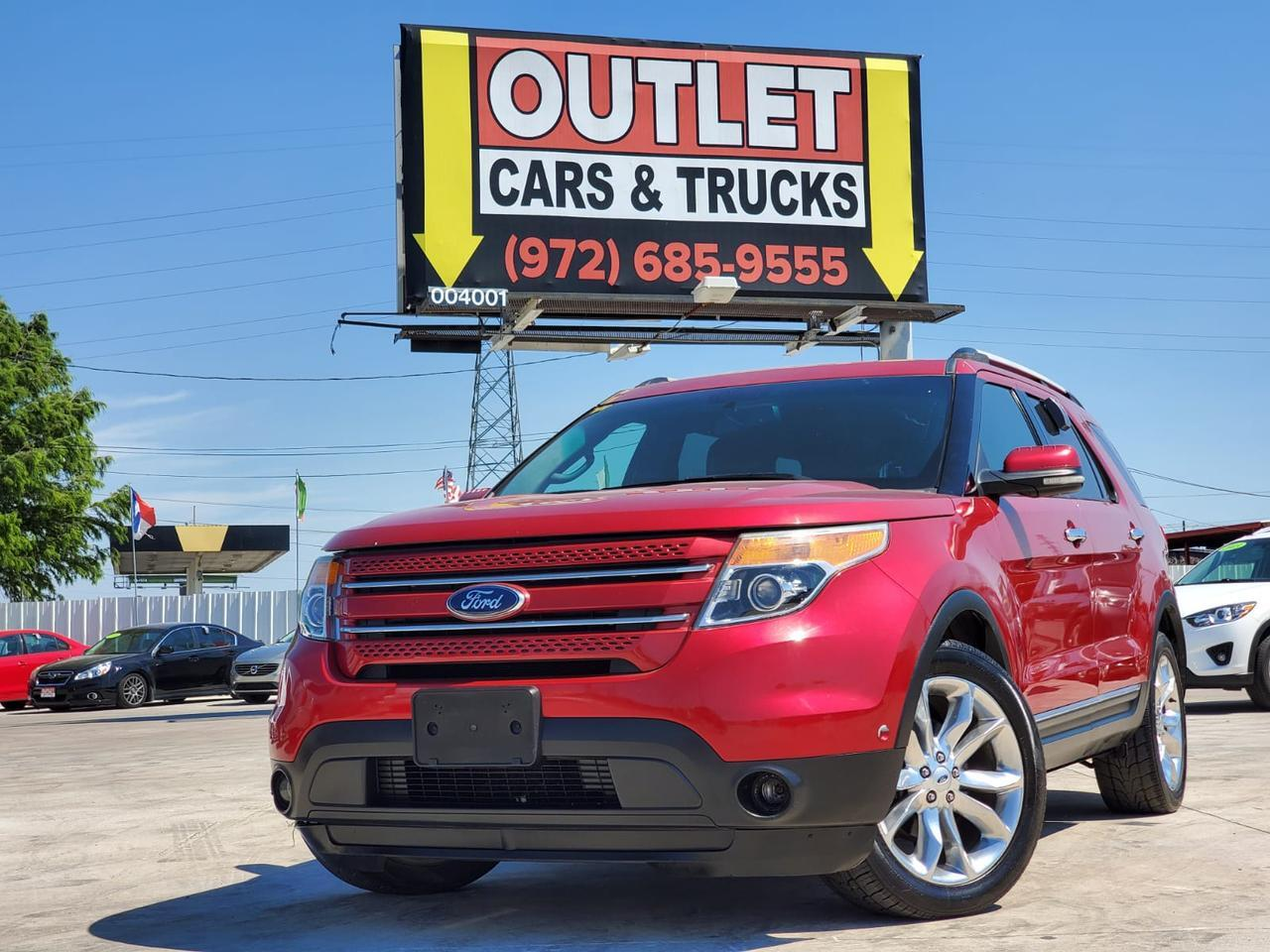 2012 Ford Explorer Limited FWD Dallas TX