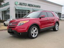 2012_Ford_Explorer_Limited FWD,LEATHER SEATS,NAVIGATION,BACKUP CAMERA,HEATED AND COOLED FRONT SEATS,REAR PARKING SENSOR_ Plano TX