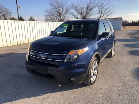 2012 Ford Explorer Limited Gainesville TX