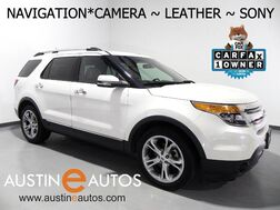 2012_Ford_Explorer Limited_*NAVIGATION, BACKUP-CAMERA, TOUCH SCREEN, LEATHER, CLIMATE SEATS, POWER LIFTGATE, SONY AUDIO, BLUETOOTH_ Round Rock TX