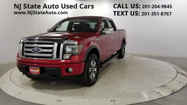 "2012 Ford F-150 4WD SuperCrew 145"" FX4 Jersey City NJ"