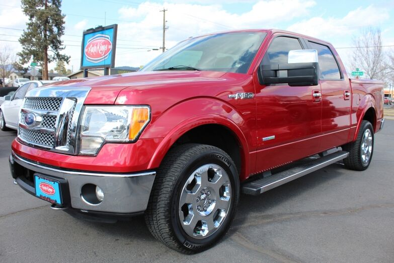 2012 Ford F-150 4WD SuperCrew 145  Lariat Bend OR