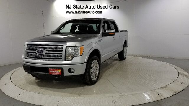 "2012 Ford F-150 4WD SuperCrew 145"" Platinum Jersey City NJ"