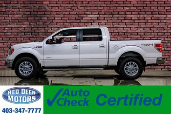 2012_Ford_F-150_4x4 Super Crew Lariat EcoBoost Leather Roof Nav_ Red Deer AB