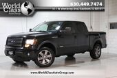 2012 Ford F-150 FX4 - AWD SUN ROOF LEATHER INTERIOR POWER ADJUSTABLE SEATS BACKUP CAMERA CREW CAB ALLOY WHEELS BED COVER