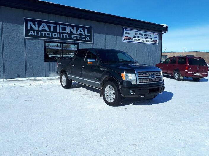 2012 Ford F-150 FX4 - HEATED AND COLD LEATHER - SUN ROOF- RETRACTABLE RUNNING BOARDS Lethbridge AB