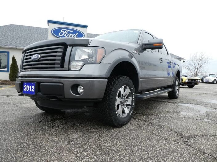 2012 Ford F-150 FX4- LEATHER- HEATED/COOLED SEATS- MEMORY SEATS Essex ON