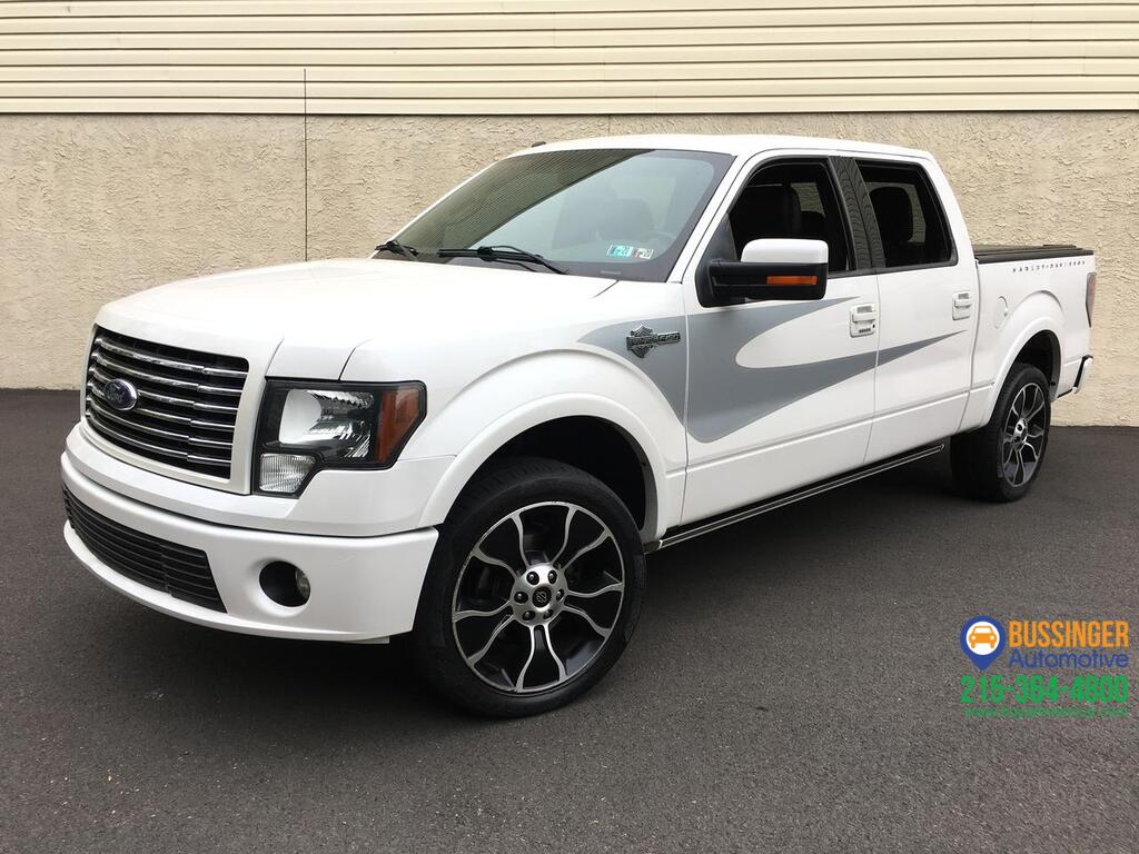 2012 Ford F-150 Harley Davidson - Super Crew - 4x4 Feasterville PA