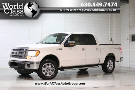 2012 Ford F-150 Lariat - AWD TOW ASSIST NAVIGATION BACKUP CAMERA PARKING SENSORS HEATED LEATHER SEATS WOODGRAIN INTERIOR SUN ROOF SONY AUDIO MICROSOFT SYNC Chicago IL
