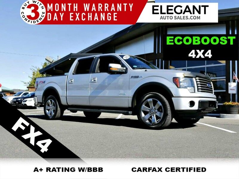 2012 Ford F-150 Lariat 106K MILES ECOBOOST 4X4 SUPER CLEAN TRUCK
