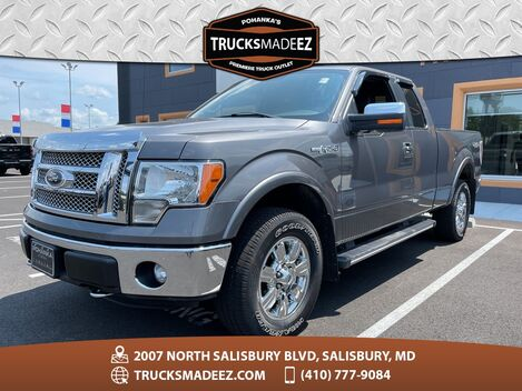 2012_Ford_F-150_Lariat 4WD ** Only 35,418 Miles ** 5.0L V8 **_ Salisbury MD