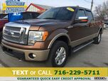 2012 Ford F-150 Lariat SuperCrew 4WD w/Heated Leather