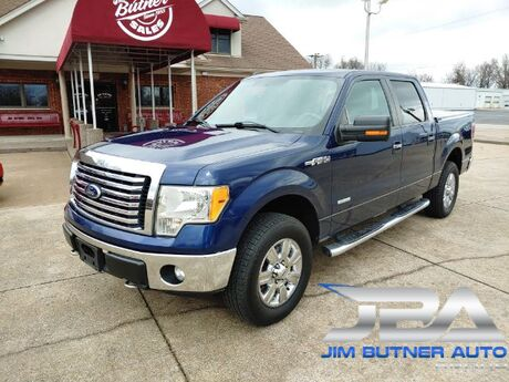 2012 Ford F-150 Lariat SuperCrew 5.5-ft. Bed 4WD Clarksville IN