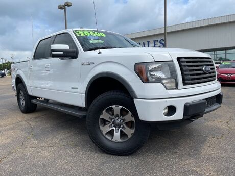 2012 Ford F-150 Lariat SuperCrew 5.5-ft. Bed 4WD Jackson MS