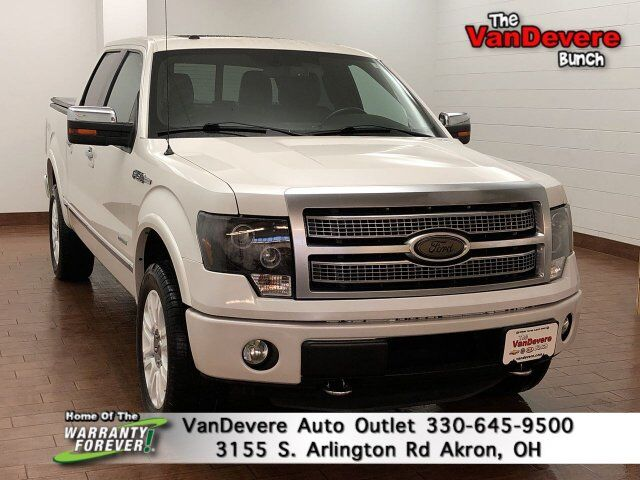 2012 Ford F-150 Platinum Akron OH