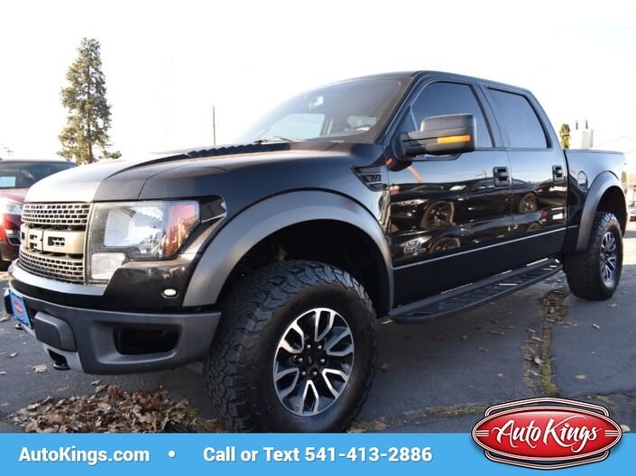 2012 Ford F-150 SVT Raptor 4WD SuperCrew Bend OR
