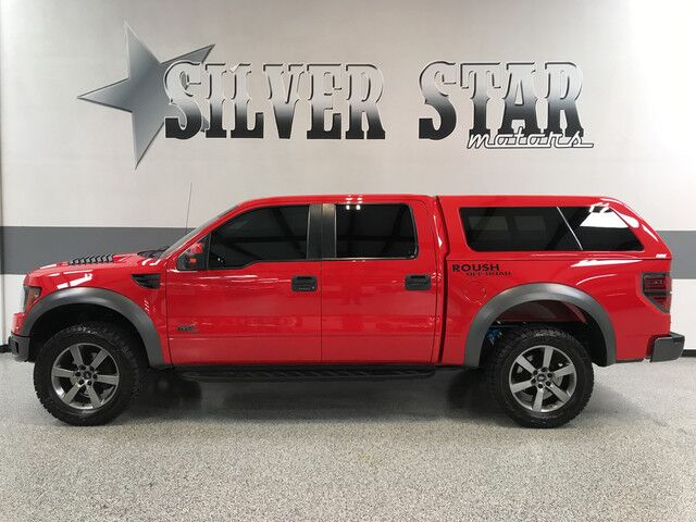 2012 ford f-150 svt raptor roush supercharged 590hp cedar hill tx