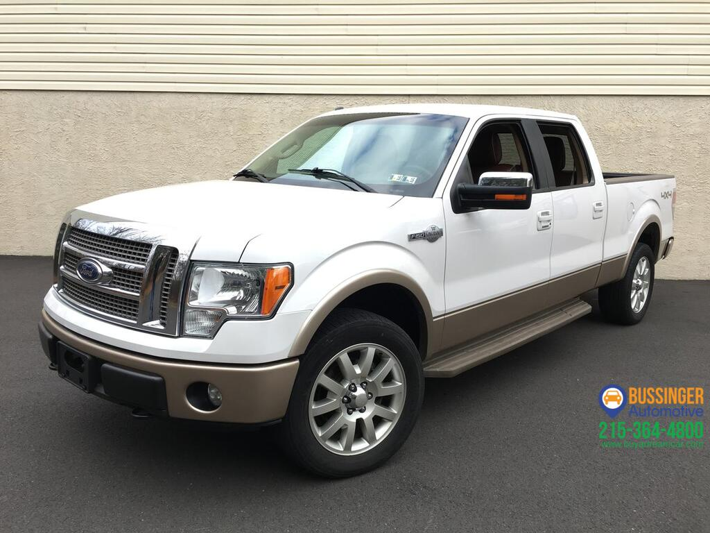 2012 Ford F-150 SuperCrew - King Ranch 4x4 Feasterville PA